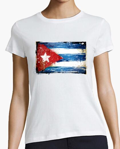 Camiseta Bandera Cuba
