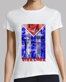 Bandera Cuba Mosaico 2 Chica