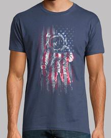 bandera de astronauta