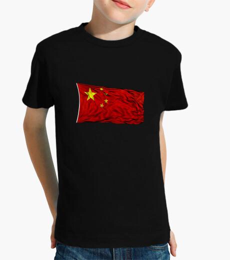 Ropa infantil Bandera de China
