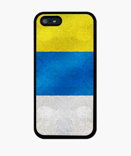 Funda iPhone Bandera de Islas Canarias