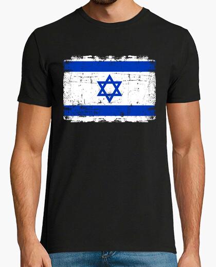 Camiseta bandera de israel