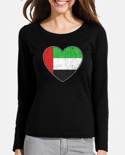 bandera de los emiratos árabes unidos a