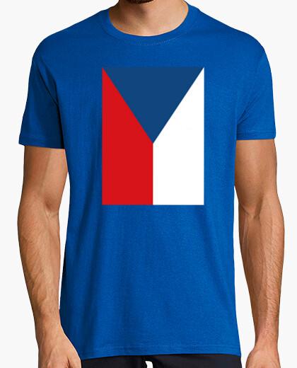Camiseta Bandera de República Checa