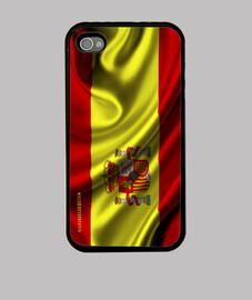 Bandera España iPhone 4/4s. Premium