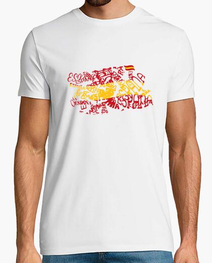 Camiseta bandera españa signo eñe...