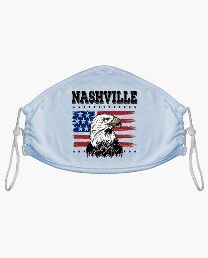 Mascarilla Bandera Estados Unidos American...