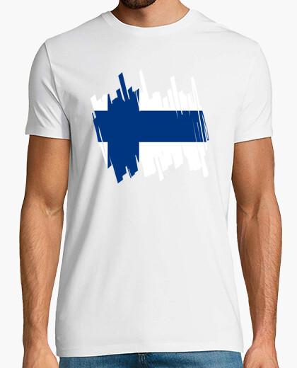 Camiseta Bandera Finlandia