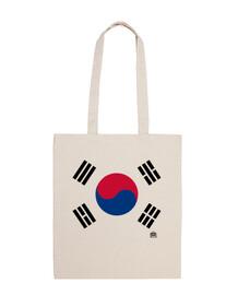 BANDERA KOREA. PUERTO POLLO