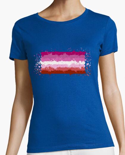 Camiseta Bandera lésbica