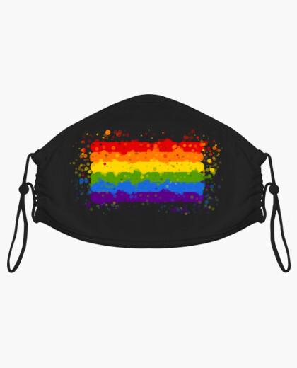 Mascarilla Bandera LGTB