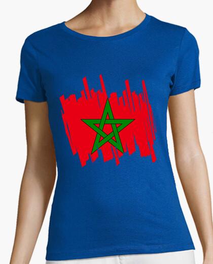 Camiseta Bandera Marruecos