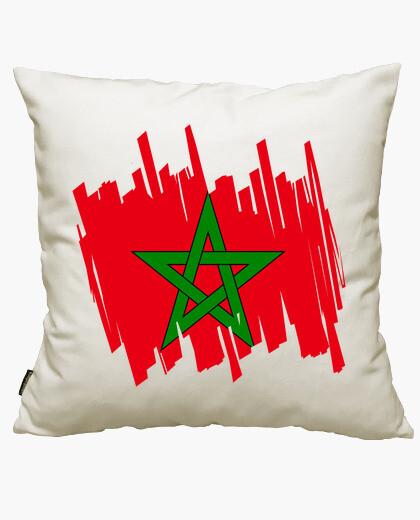 Funda cojín Bandera Marruecos