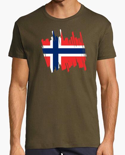 Camiseta Bandera Noruega