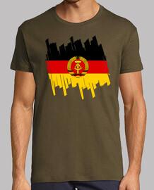 Bandera RDA Trazos