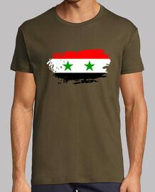 Bandera, República Árabe Siria