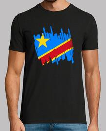 Bandera República Democrática del Congo