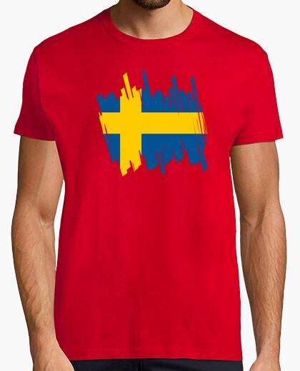 Camiseta Bandera Suecia