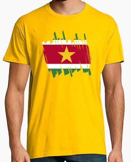 Camiseta Bandera Surinam