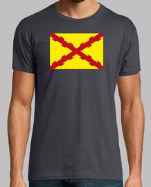 Bandera Tercios españoles cruz de San A