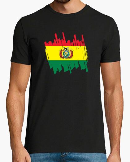 T-shirt bandiera bolivia