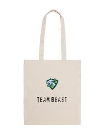 Bandolera 100% algodón team beast