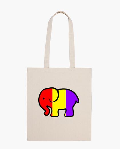 Bolsa Bandolera Elefante Republicano