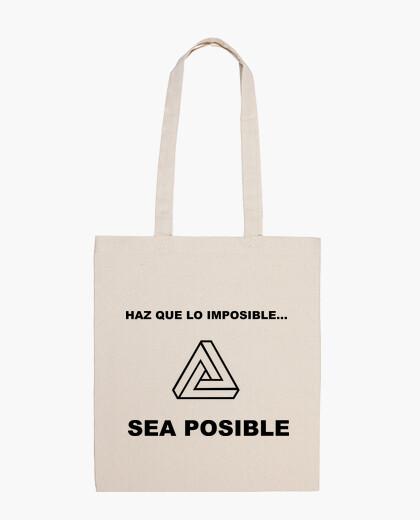 Bolsa Bandolera haz posible lo imposible (Triángulo)