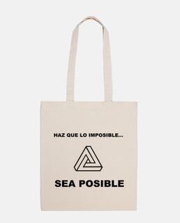 Bandolera haz posible lo imposible (Triángulo)