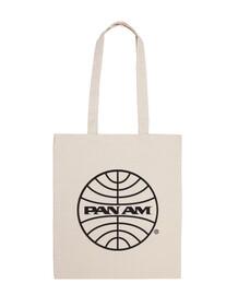 Bandolera Pan Am negro