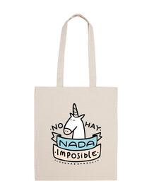 Bandolera Unicornio Nada Es Imposible