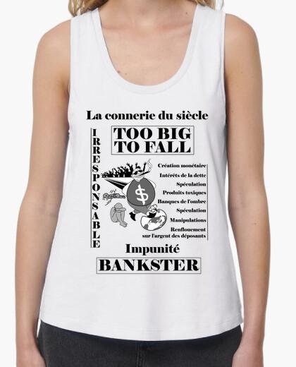 Bankster 1 f fc t-shirt