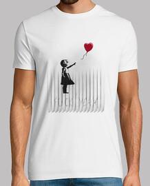 0585075f4 Camisetas GIRL WITH BALLOON más populares - LaTostadora