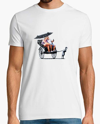 Camiseta Banksy - Carro