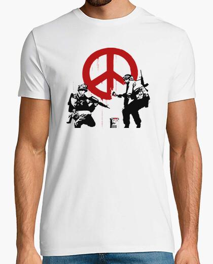 Camiseta Banksy - Militar