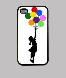 banksy ballon (iphone)