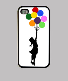 banksy balloon (iphone)