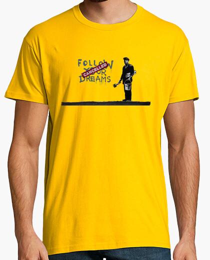 Camiseta Banksy Follow your dreams