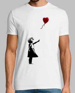 Banksy niña globo friki
