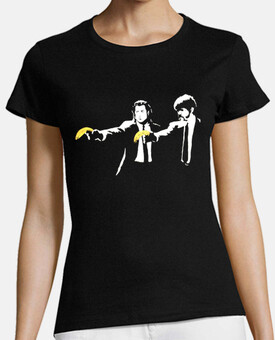 Banksy - Pulp Fiction chica (pesonalizable)