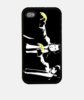 Banksy Pulp Fiction Fundas Iphone