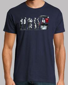 Banksy revolution camisetas friki