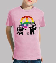 Banksy soldados de la paz LGTB