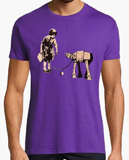Camiseta Banksy Star wars