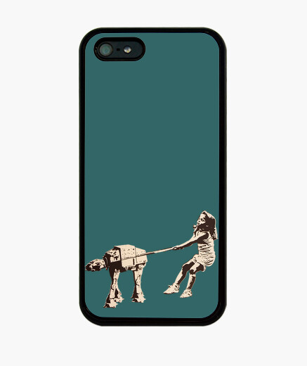 Funda iPhone Banksy Star wars popart