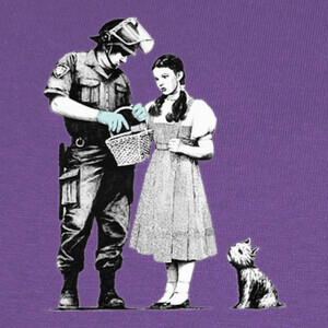 Camisetas Banksy Stop and Search