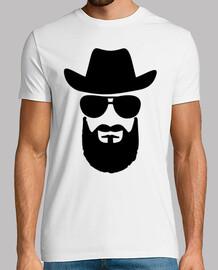 barba cabeza de vaquero