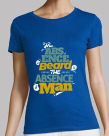 barba camiseta mujer