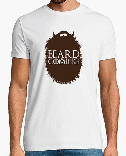 Camiseta barba viene