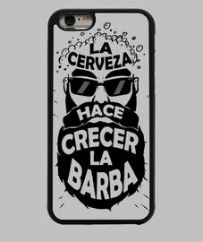 barbe bière iphone cas